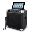 CAIXA AC�STICA AMPLIFICADORA PORT�TIL C/BASE P/IPOD E AM/FM - ION IPA17